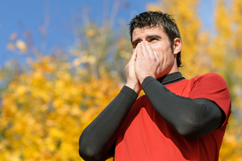 Allergy-induced asthma symptoms