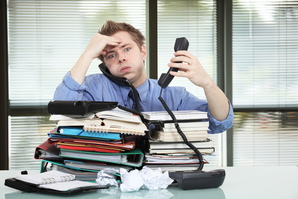 Stress affects men's health and more