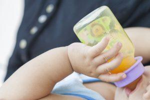 No Drinking Fruit Juice for Children Under 1 Year