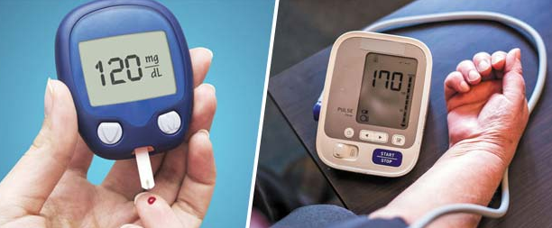 Diabetes Affects Blood Pressure