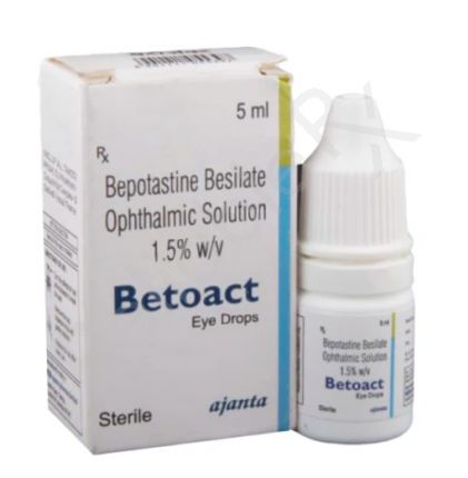 Betoact 1.5% Eye Drops
