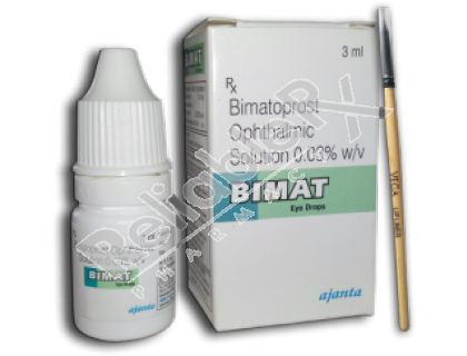 Bimat 0.03% (Bimatoprost Ophthalmic Solution)