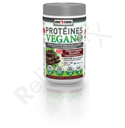 PROTEINS VEGAN CHOCOLATE/HAZELNUT