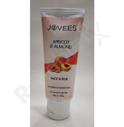 Jovees Apricot & Almond Face Scrub For Fresh & Radiant Skin 100 gm