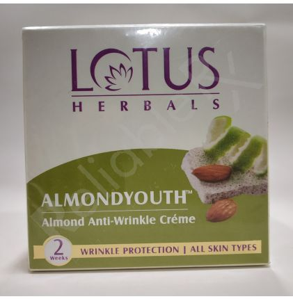 Lotus Almondyouth Almond Anti-Wrinkle Creme