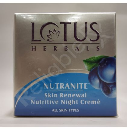 Lotus Nutranite Skin Renewal Nutritive Night Crème