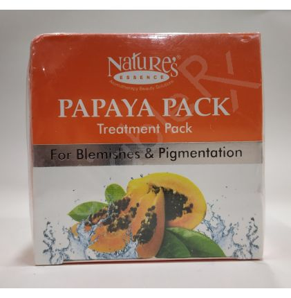 Nature's Papaya Pack Treatment Pack For Blemishes & Pigmentation 60 gm