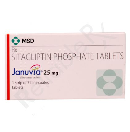 Januvia 25mg Tablets